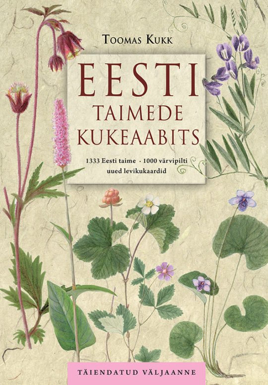 Eesti taimede kukeaabits | Toomas Kukk | Varrak