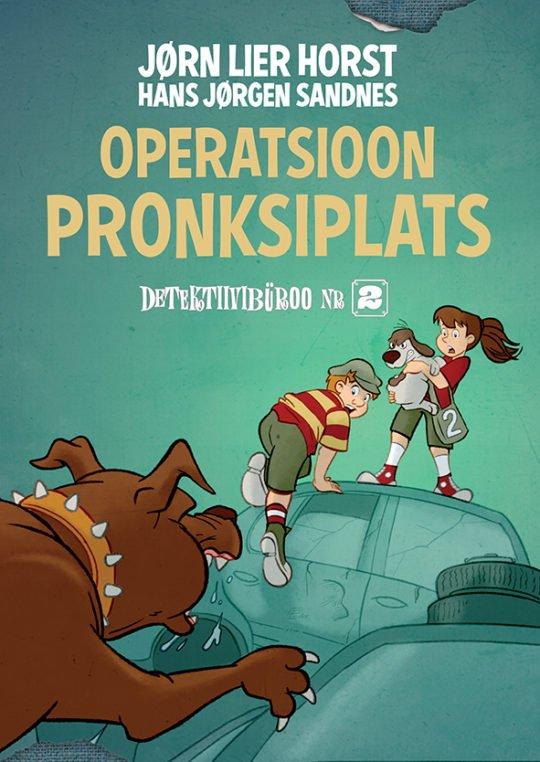 Operatsioon Pronksiplats | Hans Jørgen Sandnes,Jørn Lier Horst | Varrak