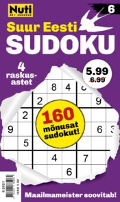 Suur Eesti Sudoku 6 | Varrak